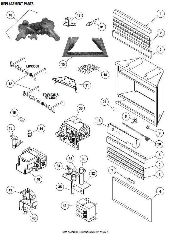 A Plus Inc Lennox Edv4540 Replacement Pants And Accessories